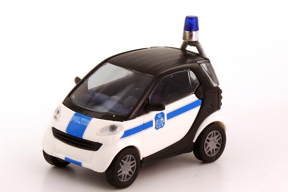 Foto 1:87 Smart City-Coupé Politie, Polizei Belgien Busch 48909
