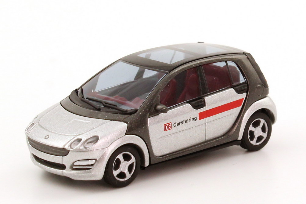 Foto 1:87 Smart Forfour DB Carsharing Busch 49500