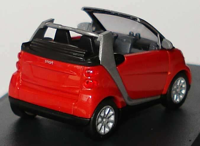 Foto 1:87 Smart Fortwo II Cabrio rot-met. Werbemodell Busch Q0022557V001C81Q00