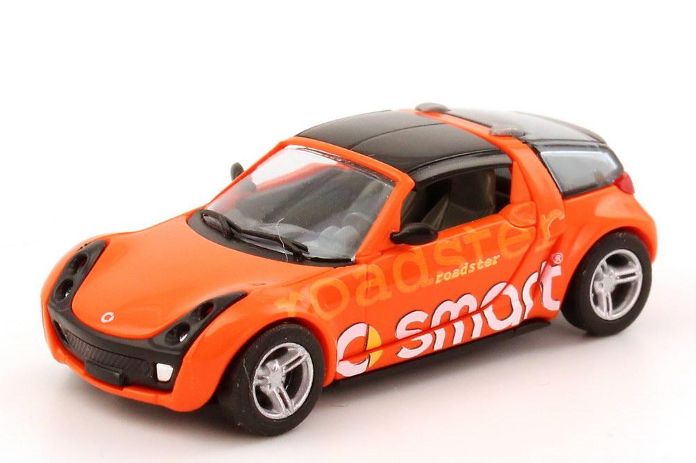 Foto 1:87 Smart Roadster Coupé orange Smart Roadster Busch 49351