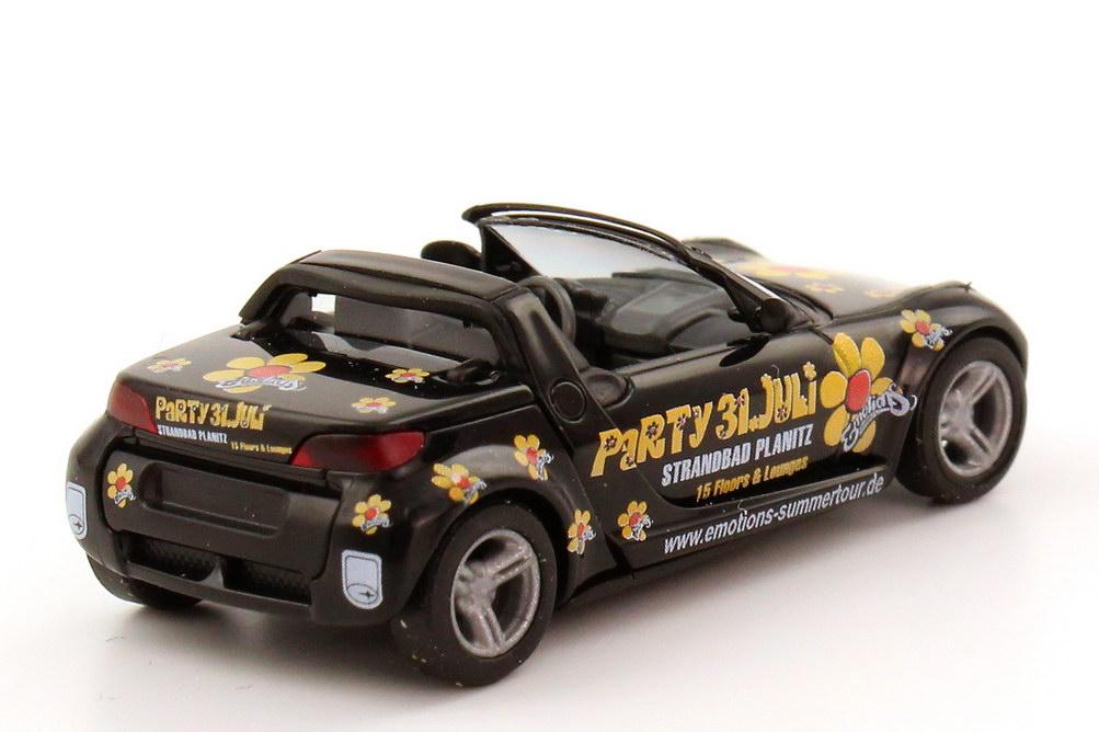 Foto 1:87 Smart Roadster Strandbad Planitz - Party 31. Juli Busch 49301