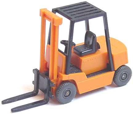 Foto 1:87 Still R70 Gabelstapler orange schwarz - Wiking 659