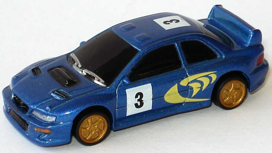 Foto 1:87 Subaru Impreza WRC (Schlüsselanhänger)