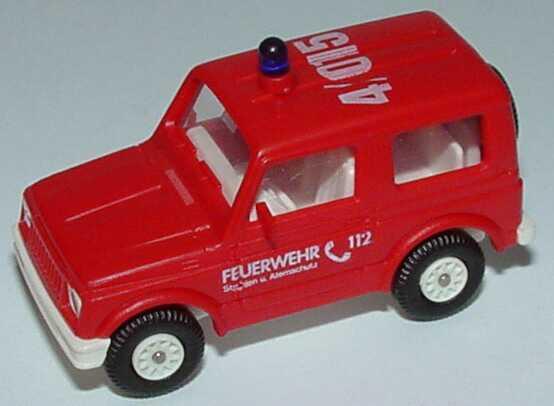 Foto 1:87 Suzuki SJ 410 Feuerwehr Strahlen- und Atomschutz, 4/015 Rietze