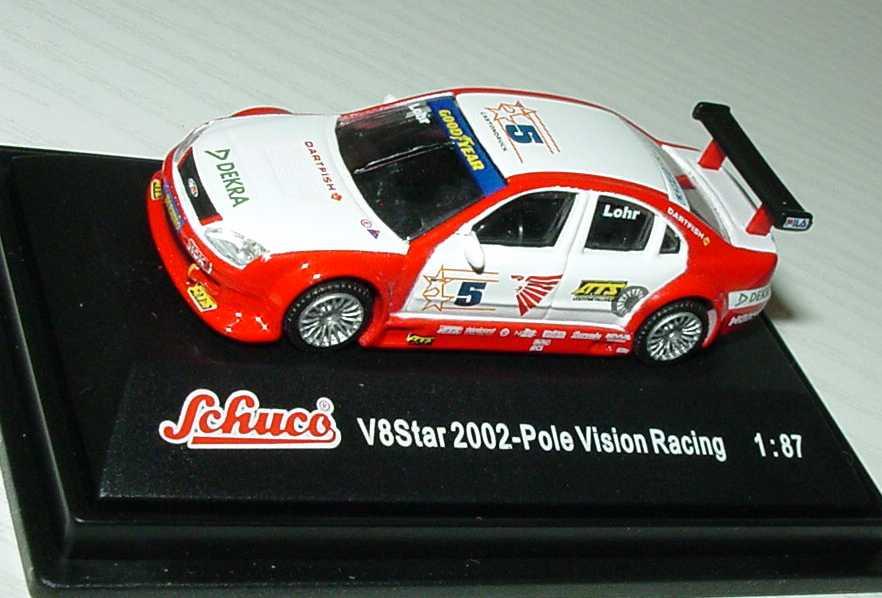 Foto 1:87 V8 Star 2002 Ford Mondeo Pole Vision, DEA Nr.5, Lohr Schuco 21656