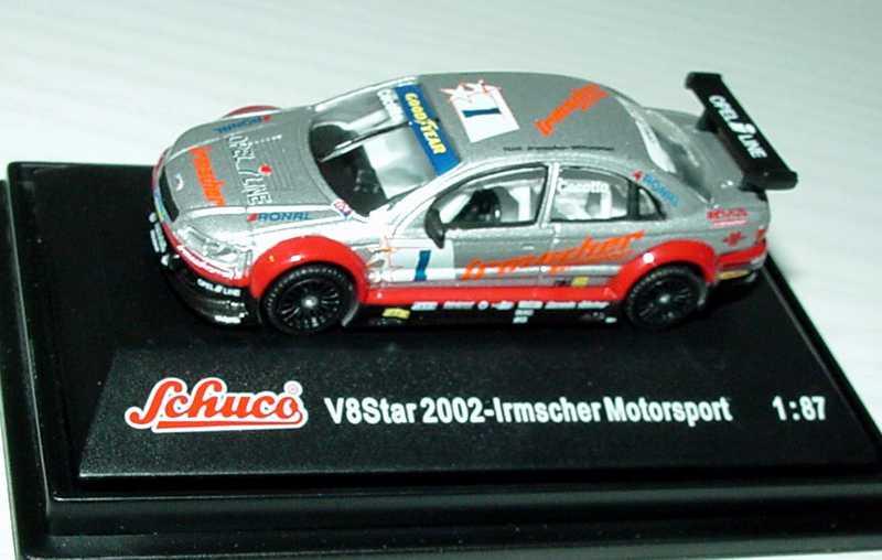 Foto 1:87 V8 Star 2002 Opel Omega Irmscher Motorsport Nr.1, Cecotto Schuco 21621