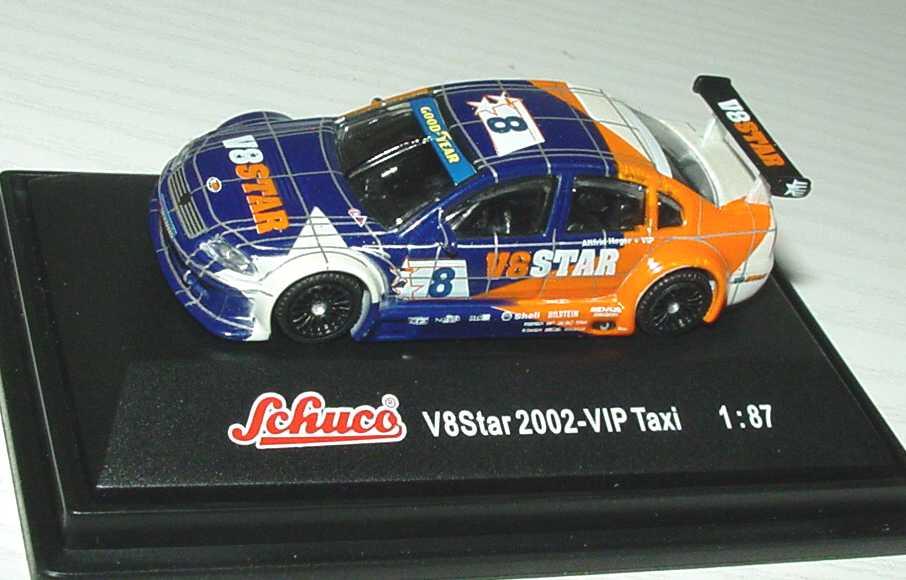 Foto 1:87 V8 Star 2002 VW Passat VIP Taxi, V8 Star Nr.8, Heger Schuco 21617