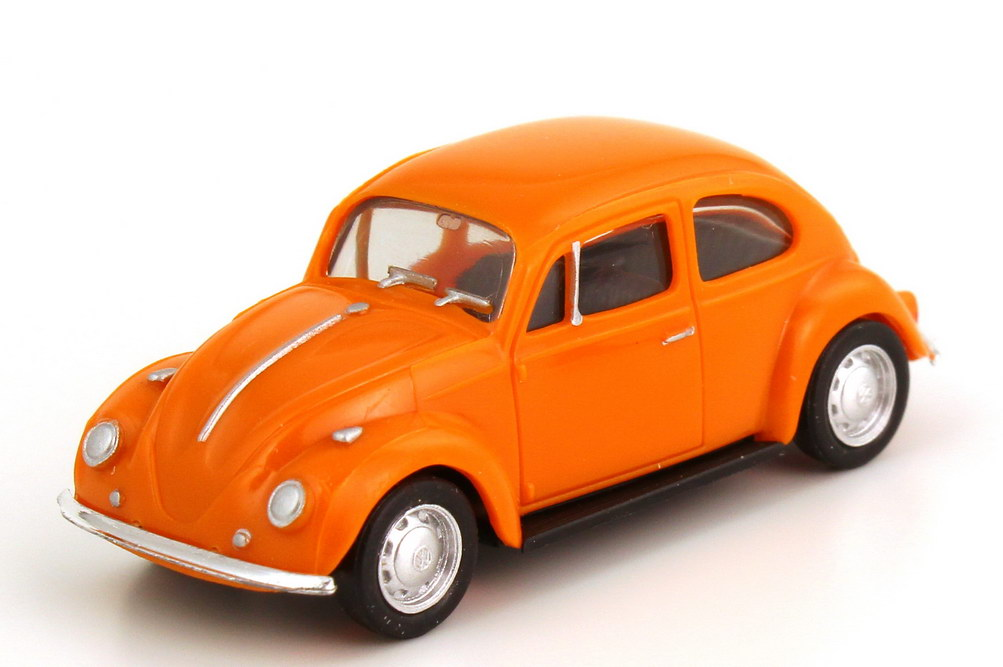 Foto 1:87 VW 1200 Käfer orange herpa 022361/150743