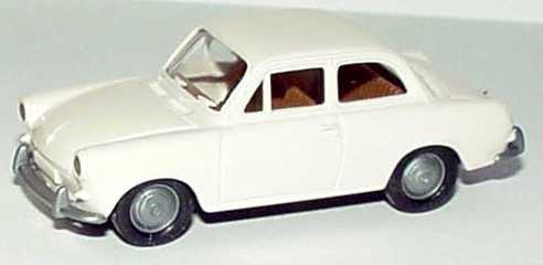 Foto 1:87 VW 1500 2türig altweiß Brekina 2600