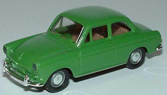 Foto 1:87 VW 1500 2türig grün Brekina 26002