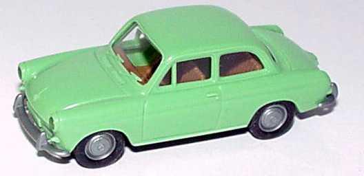 Foto 1:87 VW 1500 2türig mintgrün Brekina 2600