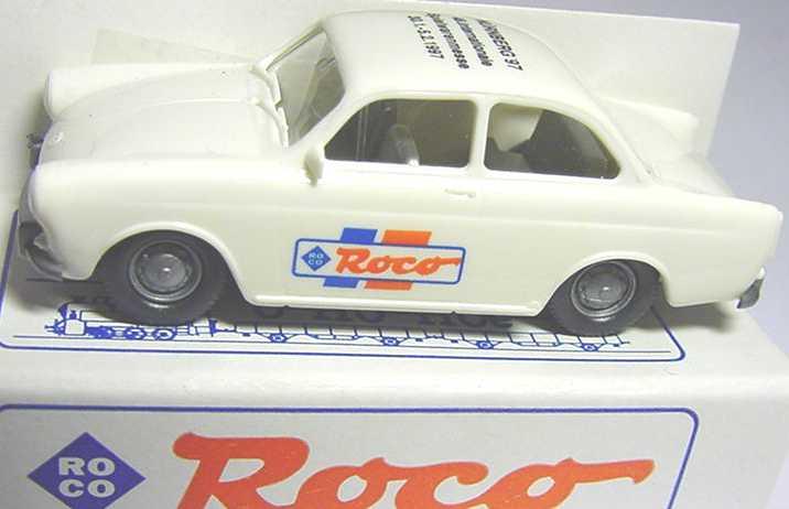Foto 1:87 VW 1500 2türig weiß Spielwarenmesse Nürnberg ´97 Roco