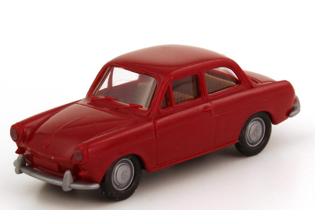 Foto 1:87 VW 1500 Limousine dunkel-rot Brekina 2600