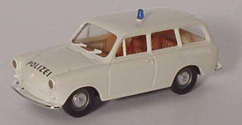 Foto 1:87 VW 1500 Variant Autobahnpolizei weiß Brekina 26510