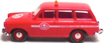 Foto 1:87 VW 1500 Variant AvD Brekina 26501