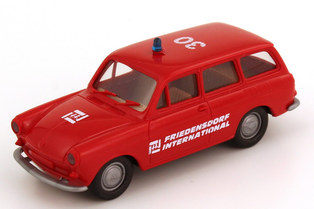 Foto 1:87 VW 1500 Variant ELW 30 Jahre Friedensdorf International Brekina 9903-2