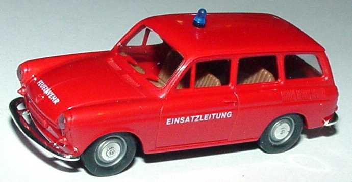 Foto 1:87 VW 1500 Variant Feuerwehr Einsatzleitung Brekina 26512