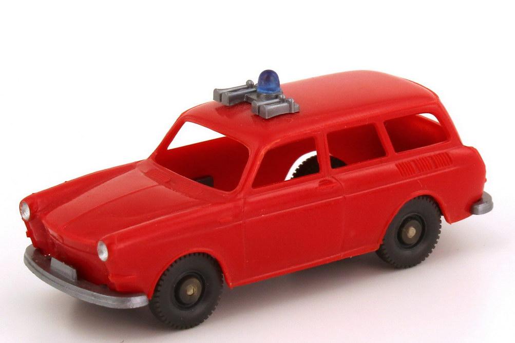 Foto 1:87 VW 1500 Variant Feuerwehr rot, ohne Verglasung Wiking 600