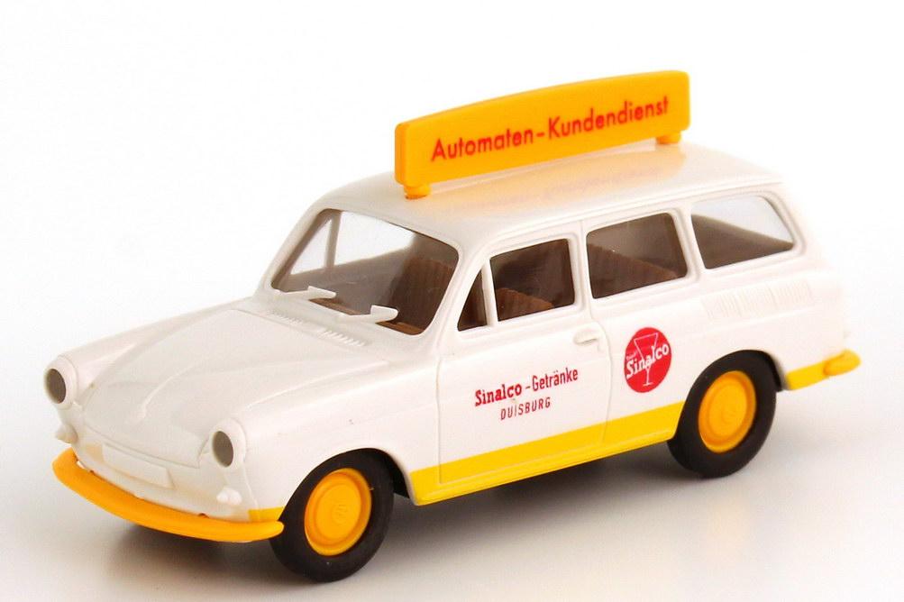 Foto 1:87 VW 1500 Variant Sinalco Automaten-Kundendienst Brekina 26517