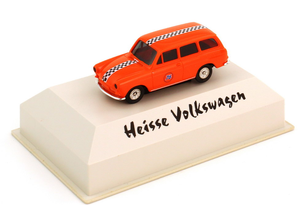 Foto 1:87 VW 1500 Variant 76 orange (Serie Heisse Volkswagen) Brekina 26513