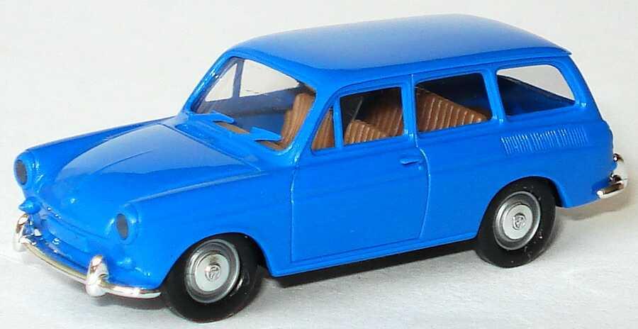 Foto 1:87 VW 1500 Variant blau Brekina 26500