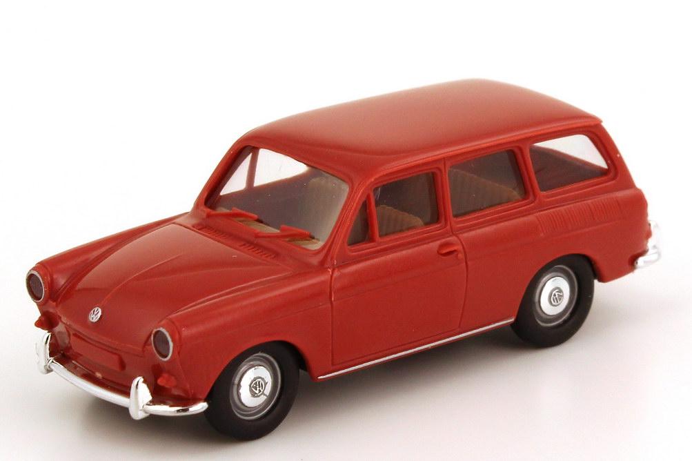 Foto 1:87 VW 1500 Variant karmin-rot Brekina 26500