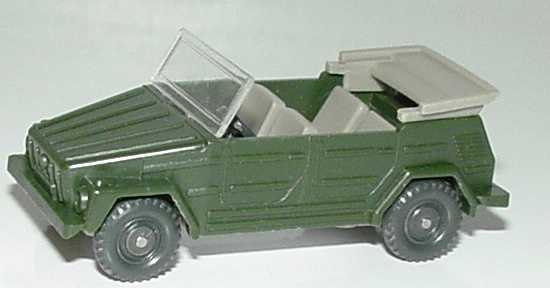 Foto 1:87 VW 181 dunkelgrün Wiking