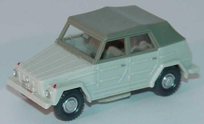 Foto 1:87 VW 181 geschlossen grauweiß (Bastelware) Wiking