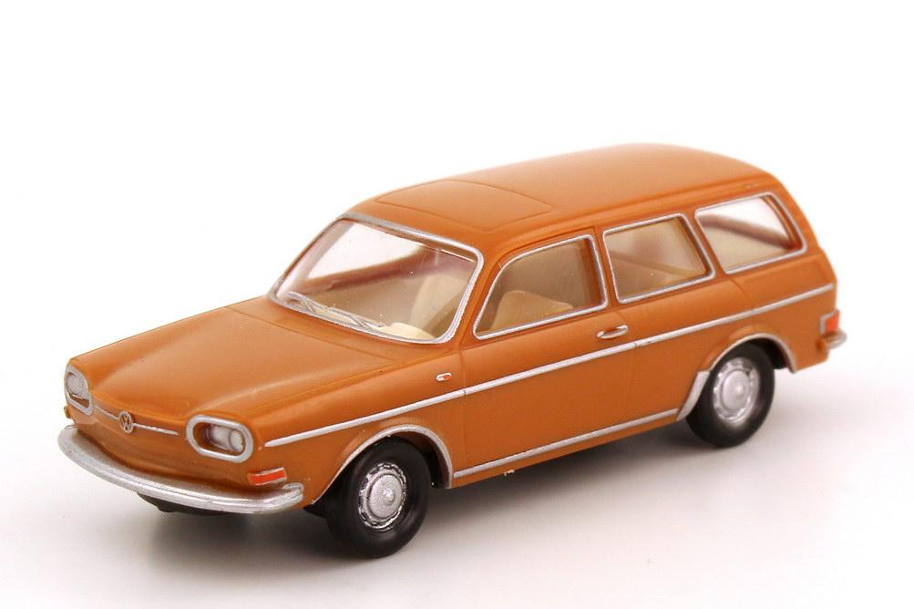Foto 1:87 VW 411 Variant karamell-braun Magic 172650