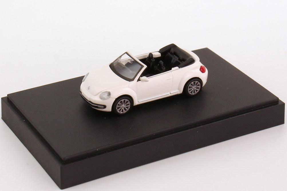 Foto 1:87 VW Beetle Cabrio (2013) candy-white Werbemodell Wiking 5C3099301B9A