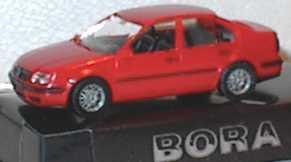 Foto 1:87 VW Bora rot Werbemodell AMW/AWM