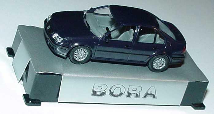 Foto 1:87 VW Bora schwarz Werbemodell AMW/AWM