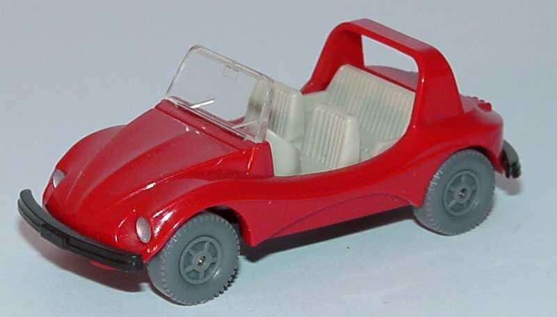 Foto 1:87 VW Buggy rot, IA grau Wiking