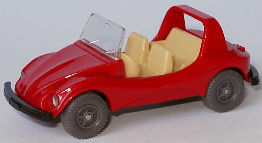 Foto 1:87 VW Buggy rot, IA hellbeige Wiking