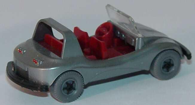 Foto 1:87 VW Buggy silber (Bastelware) Wiking