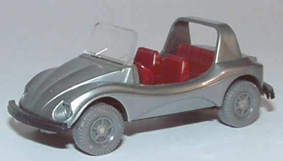 Foto 1:87 VW Buggy silber Wiking
