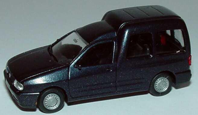Foto 1:87 VW Caddy II Kombi (Typ 9KV) schwarz-met. Rietze 20840
