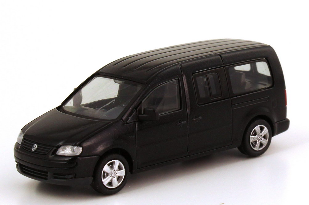 Foto 1:87 VW Caddy III Maxi Life (Typ 2K) blackmagic-perleffekt Rietze 2K3099301NPM