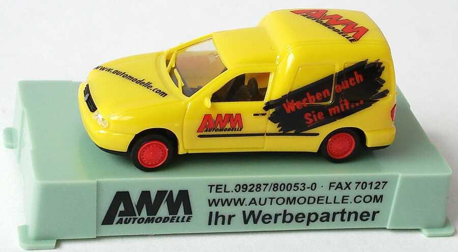 Foto 1:87 VW Caddy II Kasten AWM Automodelle, Werben auch Sie mit ... AMW/AWM