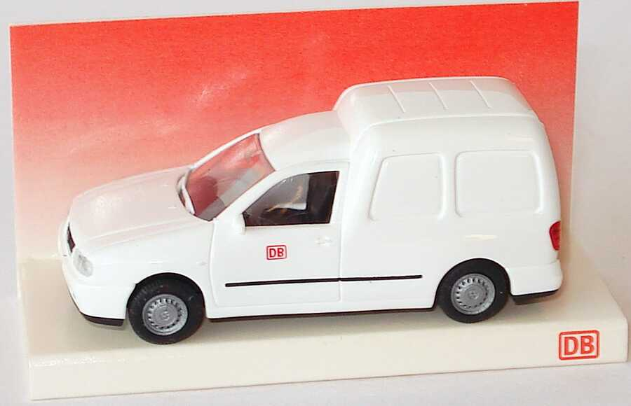 Foto 1:87 VW Caddy II Kasten DB weiß DB-Sondermodell Rietze