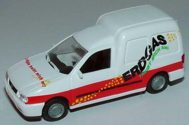Foto 1:87 VW Caddy II Kasten Erdgas treibt mich an! Rietze 30854