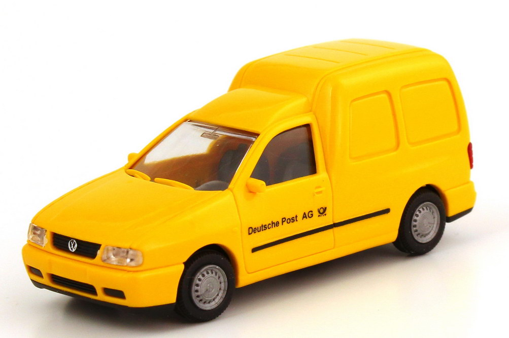 Foto 1:87 VW Caddy II Kasten (Typ 9KV) Deutsche Post AG Rietze 30856