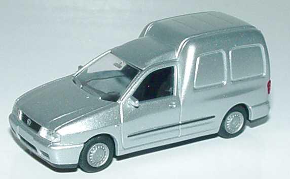 Foto 1:87 VW Caddy II Kasten silber-met. Rietze 20850