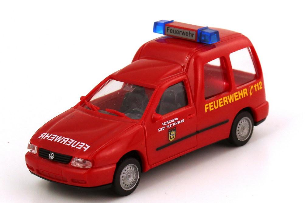 Foto 1:87 VW Caddy II Kombi (Typ 9KV) Feuerwehr Pettenberg rot AMW/AWM 72136
