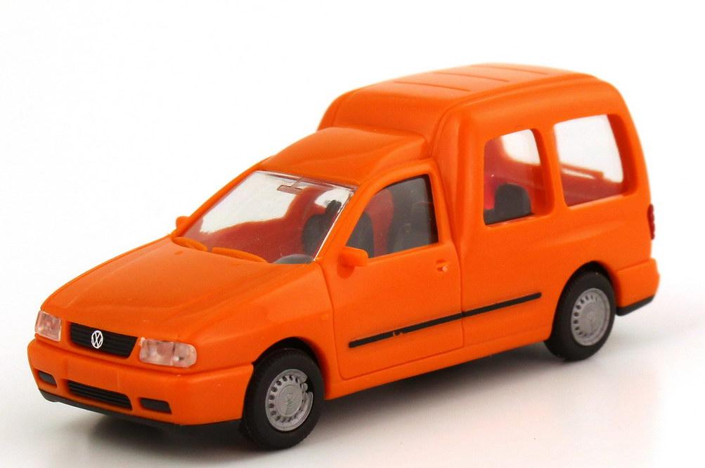 Foto 1:87 VW Caddy II Kombi (Typ 9KV) orange Rietze 10840