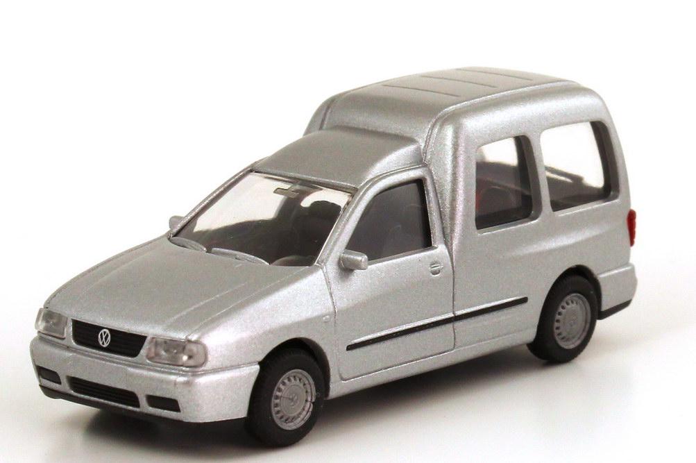 Foto 1:87 VW Caddy II Kombi (Typ 9KV) silber-met. Rietze 20840