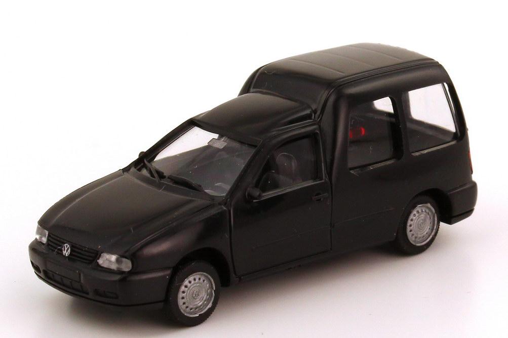 Foto 1:87 VW Caddy II Kombi (Typ 9KV) schwarz AMW/AWM 0720
