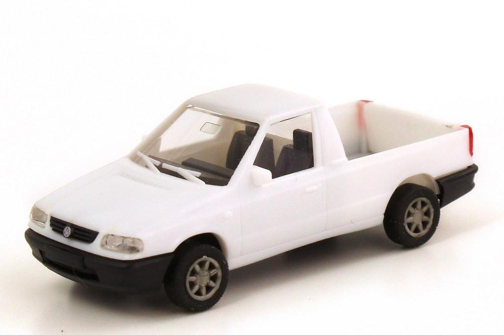 Foto 1:87 VW Caddy II Pickup (Typ 9U) weiß CS-Train 97404