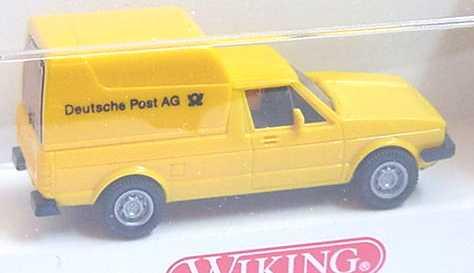 Foto 1:87 VW Caddy I Kasten Deutsche Post AG Wiking 0470217