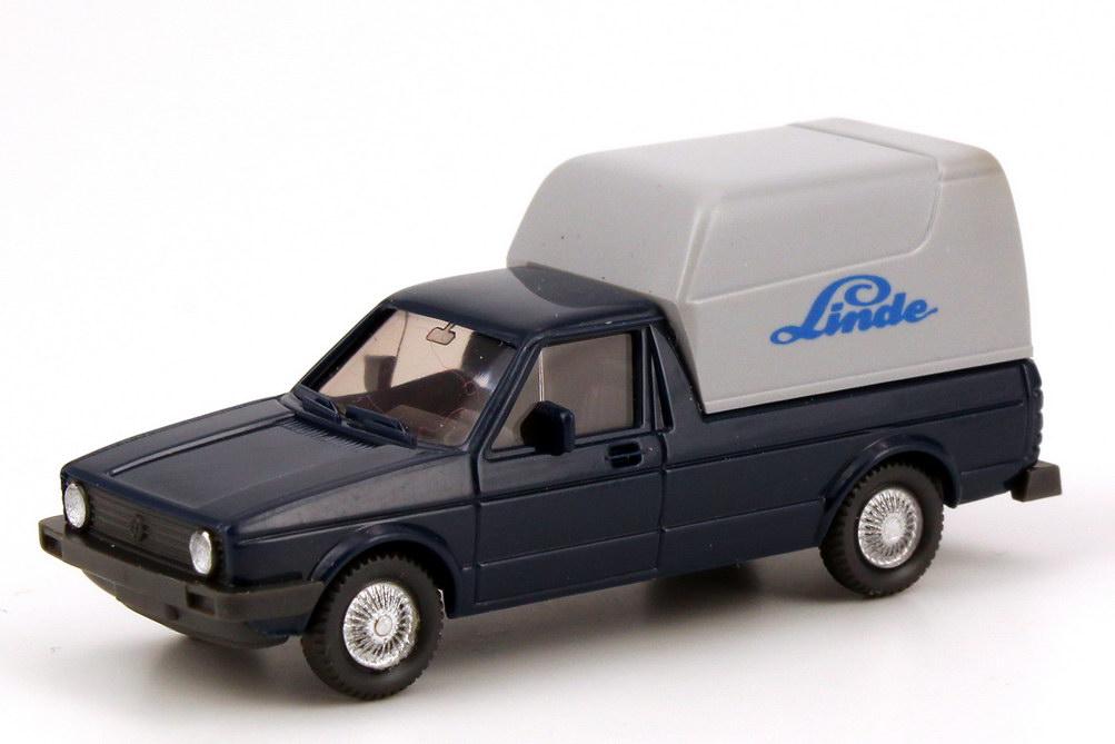 Foto 1:87 VW Caddy I Kasten Linde Wiking 047